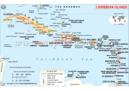 Caribbean Political Map - Digital File