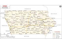 Iowa Road Map