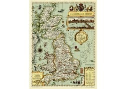 Shakespeare's Britain Wall Map