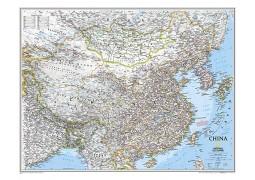China Classic Wall Map, laminated