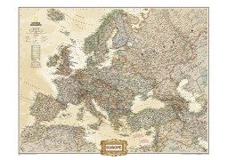 Europe Executive Wall Map, laminated
