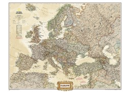 Europe Executive Large Wall Map, Laminated
