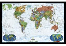 "World Decorator Wall Map [Enlarged] 73"" W x 48"" H"