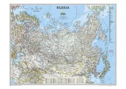 Russia Classic Wall Map