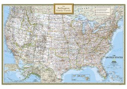 United States Personalized Wall Map
