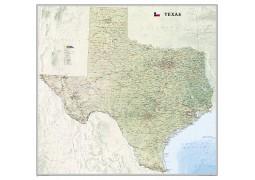 Texas Wall Map