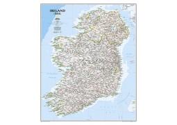 Ireland Classic Wall Map, Laminated