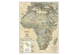 Africa Executive Wall Map, laminated