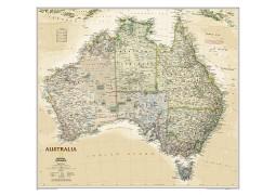 Australia Executive Wall Map, laminated