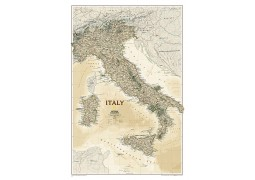 Italy Executive Wall Map, laminated