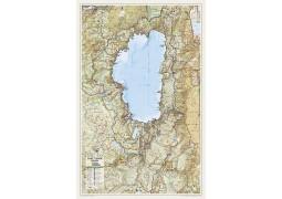 Lake Tahoe Basin Wall Map