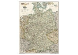 "Germany Executive Wall Map 23""W x 30""H"