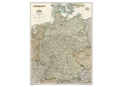 "Germany Executive Wall Map, Laminated 23""W x 30""H"