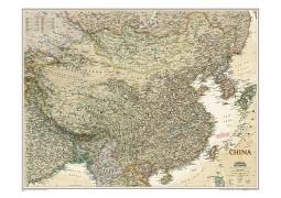 China Executive Wall Map, laminated