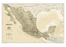 Mexico Executive Wall Map