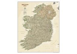 Ireland Executive Wall Map, Laminated