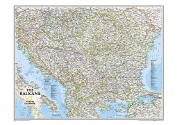 The Balkans Classic  Laminated
