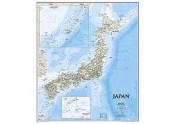 Japan Classic Wall Map, Laminated