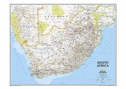 South Africa Wall Map