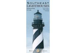 Southeast USA Lighthouses map