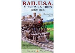 Eastern USA Rail Museum Map