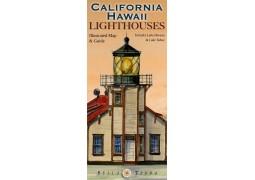 California / Hawaii Lighthouses map