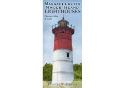 Mass. and RI Lighthouses map
