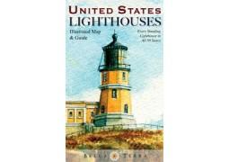 USA Lighthouses Map  (Bella)