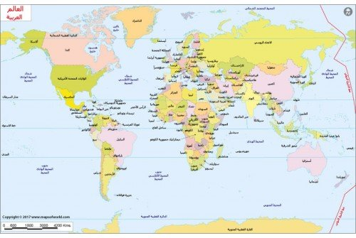 Buy arabic world map arabic world map gumiabroncs Image collections