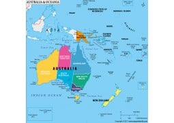 Which Are The Countries That Make Up Oceania?