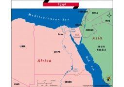 Is Egypt in Africa or Asia?