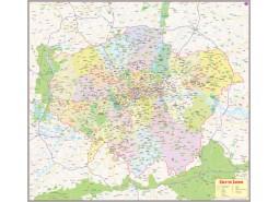 London Metropolitan Map