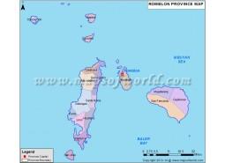 Romblon Province Map