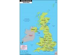 UK Universities Map