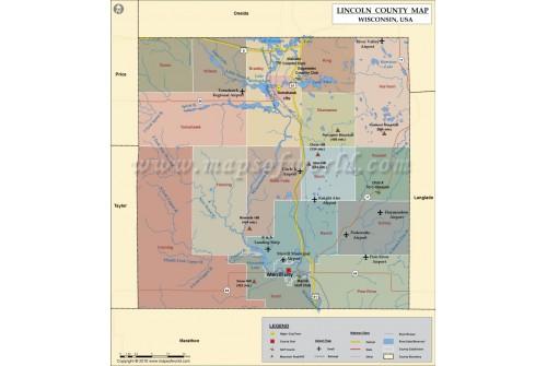 Iincoln County Map