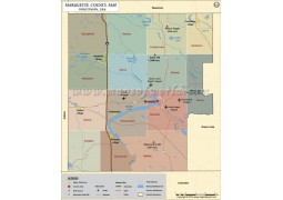 Marquette County Map