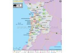Adelaide Map - Digital File