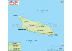 Aruba Road Map - Digital File