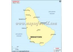 Barbados Major Cities - Digital File