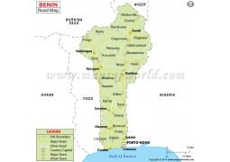 Benin Road Map - Digital File