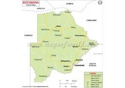 Botswana Road Map