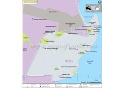 Broome Map - Digital File
