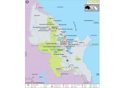 Cairns Map - Digital File