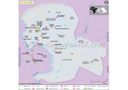 Cuiaba City Map