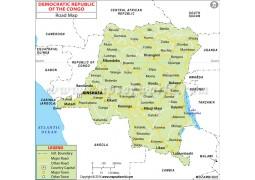 Democratic Republic of the Congo Road Map