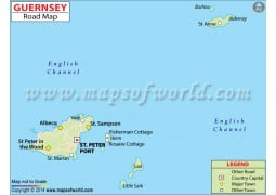 Guernsey Road Map