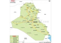 Iraq Road Map - Digital File