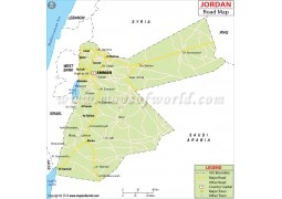 Jordan Road Map - Digital File