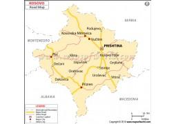 Kosovo Road Map - Digital File
