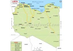 Libya Road Map - Digital File